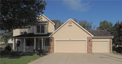 Lawrence Single Family Home For Sale: 903 Summerfield Court
