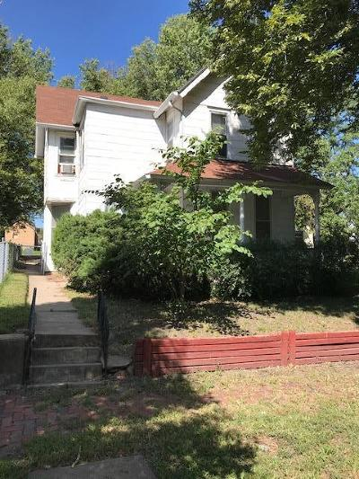Topeka Single Family Home For Sale: 307 SW Harrison Street