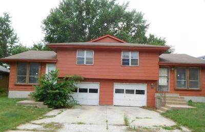 Johnson-KS County Multi Family Home For Sale: 317 S Mahaffie Street