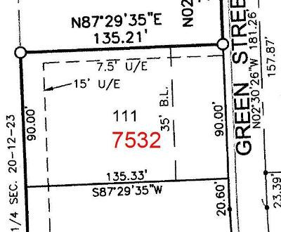 Johnson-KS County Residential Lots & Land For Sale: 7532 Green Street