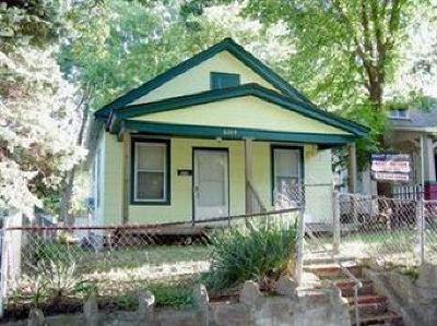 Kansas City MO Single Family Home For Sale: $23,000