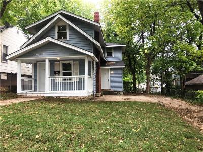 Kansas City MO Single Family Home For Sale: $50,000