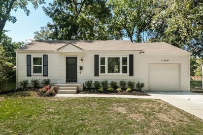 Shawnee Mission Single Family Home For Sale: 11621 W 68th Street