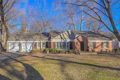 Leawood Single Family Home For Sale: 9641 Meadow Lane