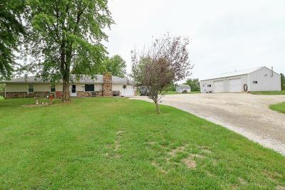 Gardner Single Family Home For Sale: 20900 Moonlight Road