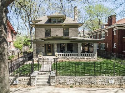 Kansas City Single Family Home For Sale: 3825 Campbell Street