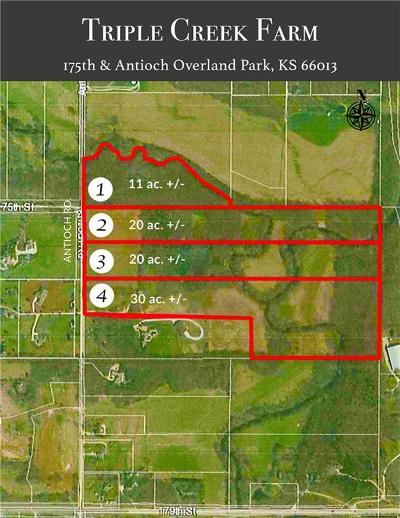 Overland Park Residential Lots & Land For Sale: 17491 Antioch Road