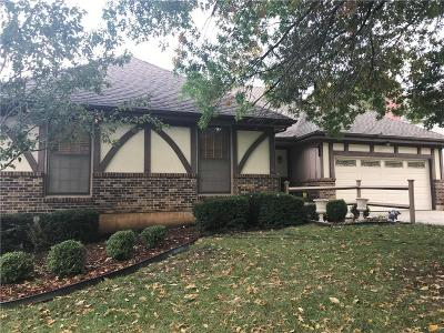 Lenexa Single Family Home For Sale: 14812 W 83 Terrace
