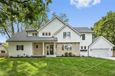 Leawood Single Family Home For Sale: 9638 Belinder Road