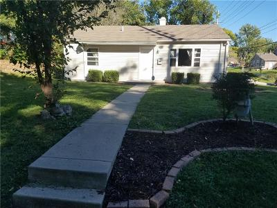 Kansas City KS Single Family Home For Sale: $119,000