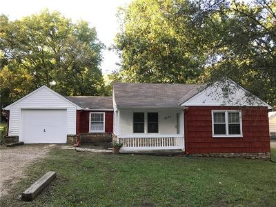 Kansas City KS Single Family Home For Sale: $75,000