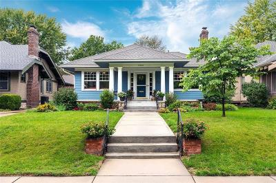 Single Family Home For Sale: 6320 Walnut Street
