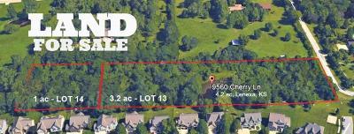 Lenexa Residential Lots & Land For Sale: 9560 Cherry Lane