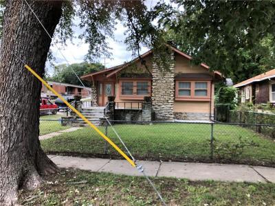 Kansas City KS Single Family Home For Sale: $42,000