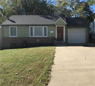Single Family Home For Sale: 6830 Indiana Avenue