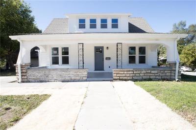 Kansas City KS Single Family Home For Sale: $95,000