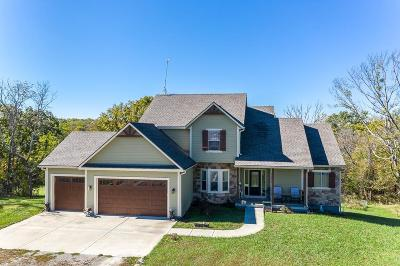 Tonganoxie Single Family Home For Sale: 17151 Feather Lane