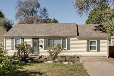 Shawnee Single Family Home For Sale: 6408 Melrose Lane