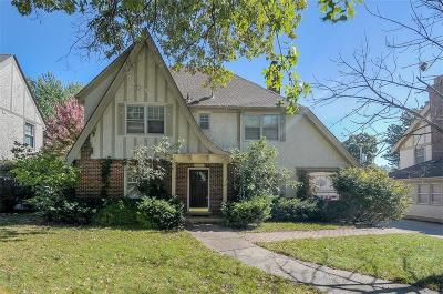 Single Family Home For Sale: 5525 Wornall Road