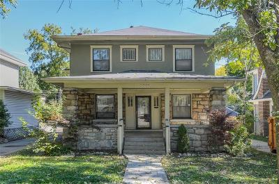 Single Family Home For Sale: 5909 Wornall Road