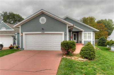 Blue Springs Single Family Home For Sale: 1502 NW Primrose Street
