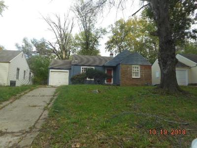 Kansas City Single Family Home For Sale: 6419 College Avenue