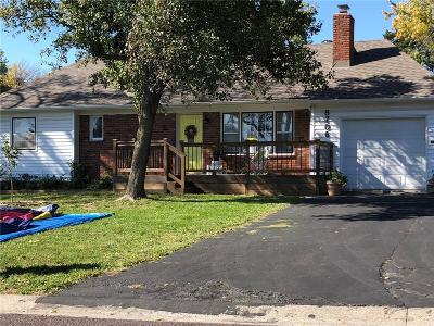 Overland Park KS Single Family Home For Sale: $244,500