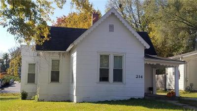 Warrensburg Single Family Home For Sale: 214 E North Street
