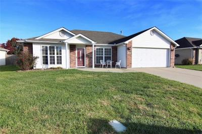 Raymore MO Single Family Home For Sale: $184,900