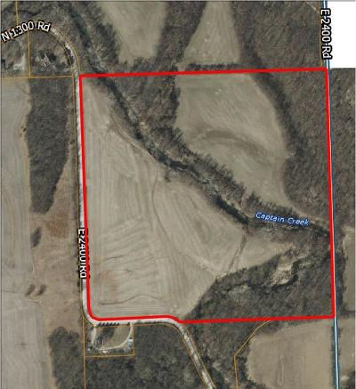 Douglas County Residential Lots & Land For Sale: 00000 E 2400 Road