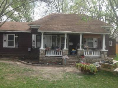 Excelsior Springs MO Single Family Home For Sale: $42,500