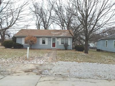 Leavenworth KS Single Family Home For Sale: $59,900