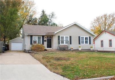 Olathe Single Family Home For Sale: 119 N Mahaffie Street