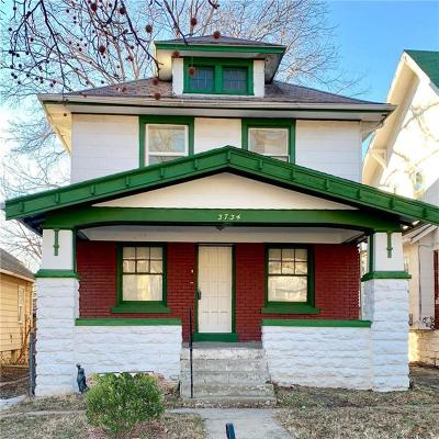 Kansas City Single Family Home For Sale: 3734 Bellefontaine Avenue
