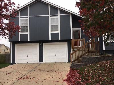 Gardner KS Single Family Home For Sale: $191,000
