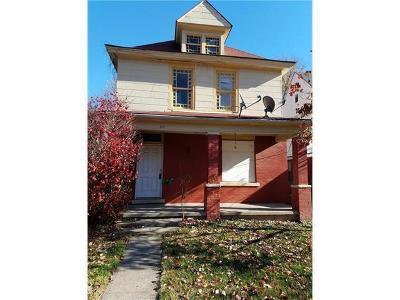 Kansas City MO Single Family Home For Sale: $37,500