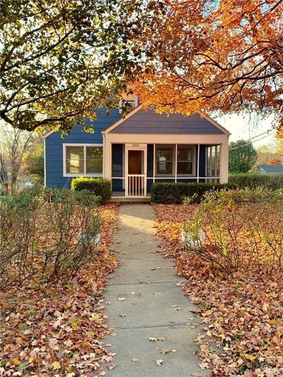 Kansas City Single Family Home For Sale: 8200 Walnut Street