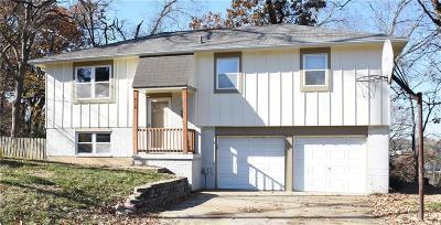 Overland Park KS Single Family Home For Sale: $160,000