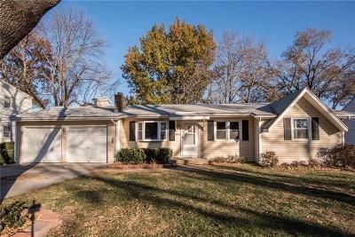 Overland Park Single Family Home For Sale: 8735 Marty Street
