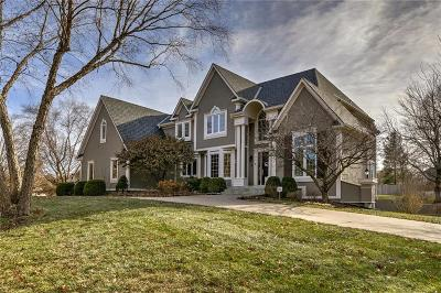 Leawood Single Family Home Show For Backups: 12600 Sagamore Road
