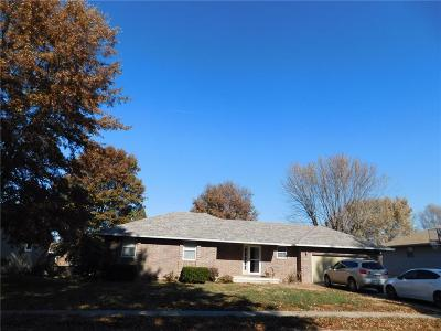 Warrensburg MO Single Family Home For Sale: $167,500