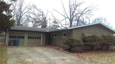Prairie Village Single Family Home For Sale: 5510 W 75th Terrace