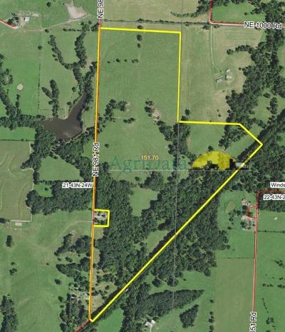 Henry County Residential Lots & Land For Sale: 940 NE 981 Road