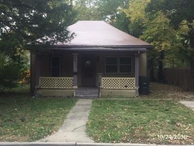 Lawrence KS Single Family Home For Sale: $75,000
