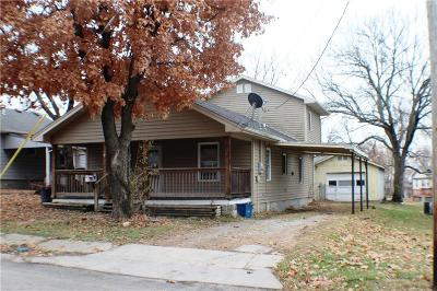 Miami County Single Family Home For Sale: 1211 Main Street