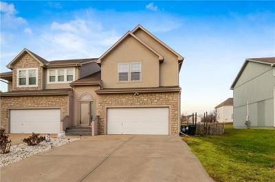 Shawnee Duplex For Sale: 22602 W 76th Terrace
