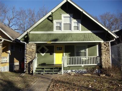 Kansas City Single Family Home For Sale: 4331 Tracy Avenue