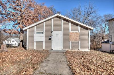 Kansas City MO Single Family Home For Sale: $42,000