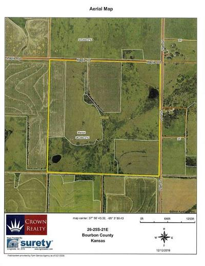 Bourbon County Residential Lots & Land For Sale: 25th & Maple Road