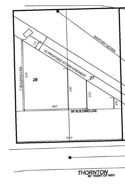 Clay County Residential Lots & Land For Sale: Lot 27 Thornton Street